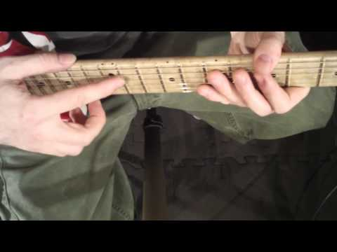 How To Play Artificial Harmonics Part 3 - Tapping Artificial Harmonics Continued