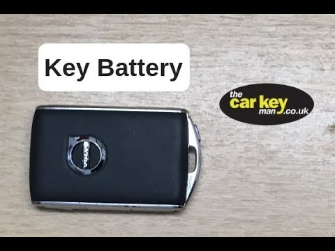 Volvo Key Fob XE90 XC90 Key Battery Change HOW TO