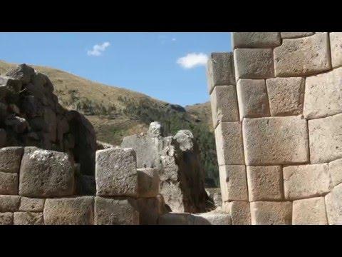 Inca World: Mysterious Stone Monuments Near Cuzco, Peru