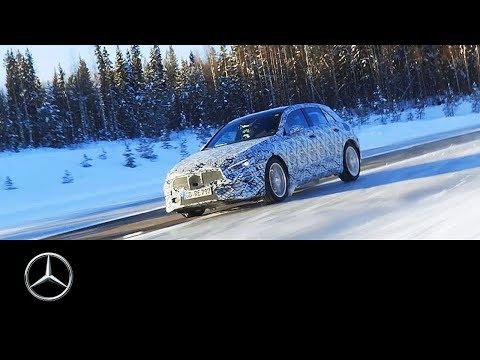 Mercedes-Benz A-Class 2018: Winter Testing