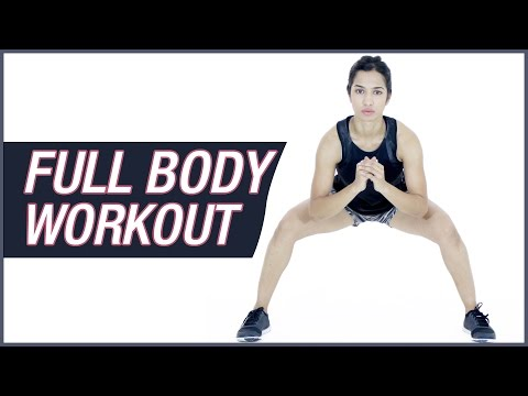 Full Body Workout For Women At Home Without Equipment
