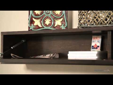 Belham Living Flip-Down Door Fireplace Mantel Shelf - Product Review Video