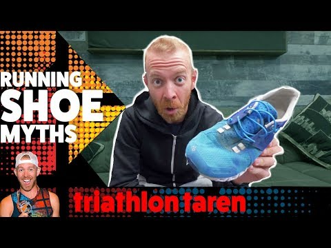 EVERYTHING you've been told about triathlon RUNNING SHOES is WRONG