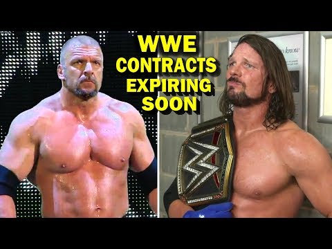10 WWE Contracts Expiring Soon - Triple H, AJ Styles & more