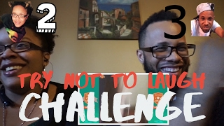 TRY NOT TO LAUGH CHALLENGE GONE WRONG( turns into bad argument)