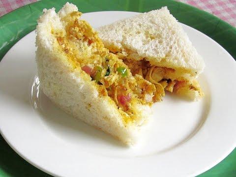 Chicken Masala Sandwich (Indian Style) Video Recipe | Nisa Homey