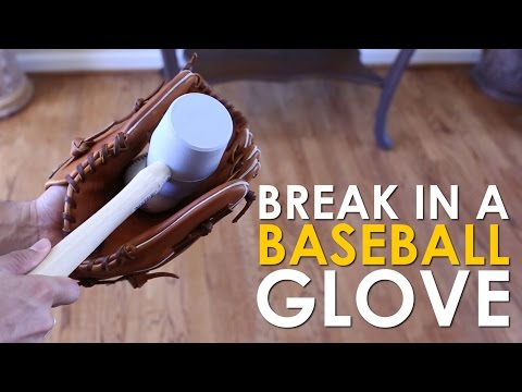 How to Break in a Baseball Glove | The Art of Manliness