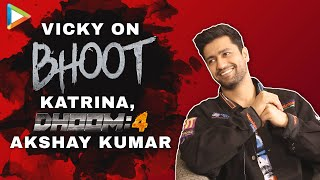 Vicky Kaushal on Katrina Kaif, Dhoom 4 with Akshay, Bhoot | Funny Rapid Fire | Fan Questions