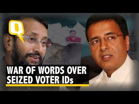 Midnight Drama After EC Seizes 9,746 Voter IDs From Bengaluru Flat