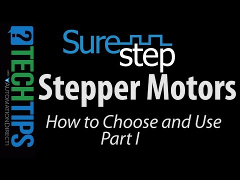 SureStep Stepper Motors - How to Choose and Use (Part I)