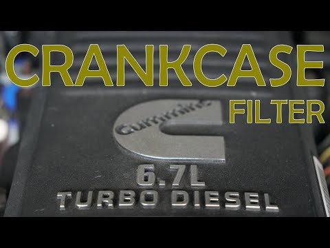 How to Change CRANKCASE FILTER - Ram 2500 6.7L Cummins