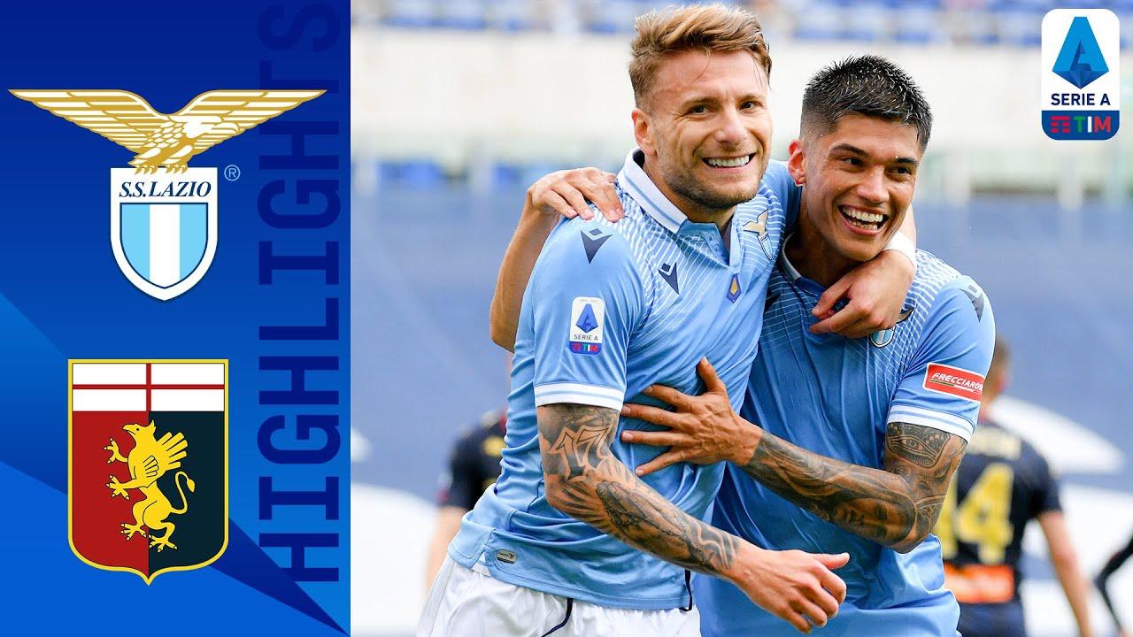 Lazio 4-3 Genoa | Immobile & Correa Shine In 7 Goal Thriller | Serie A TIM