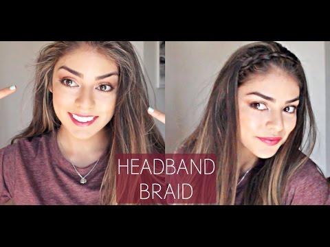 How to Easy Headband Braid | jessfashion101