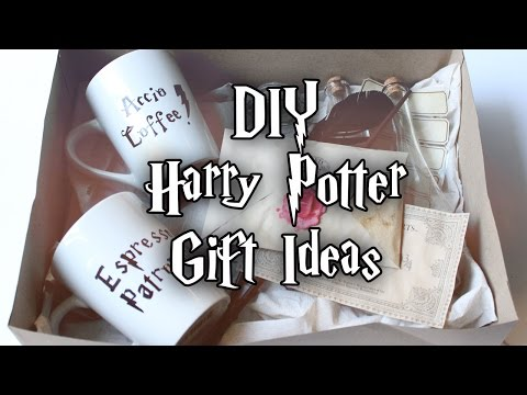 HOW TO MAKE HARRY POTTER INSPIRED GIFTS ⚡️ HOGWARTS LETTER | WAND | POTIONS | MUGS