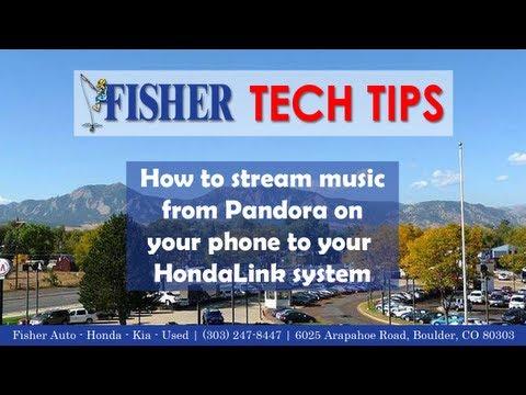 How To: Stream Pandora to HondaLink via Bluetooth