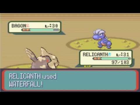 Where to Capture-Catch Bagon In Pokemon Emerald, Ruby, Sapphire