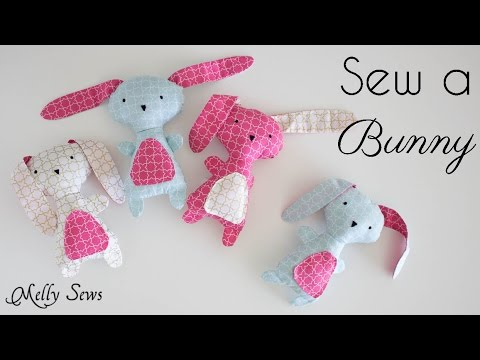 Sew a Bunny - Great Gift with a Free Pattern