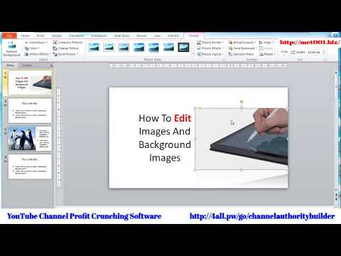 Expert Content Powerpoint How To Change And Format Images And Backgrounds