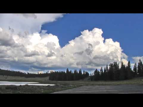 White Mountains of Arizona - Time-lapse of Clouds Over Stunning Mountains & Canyons