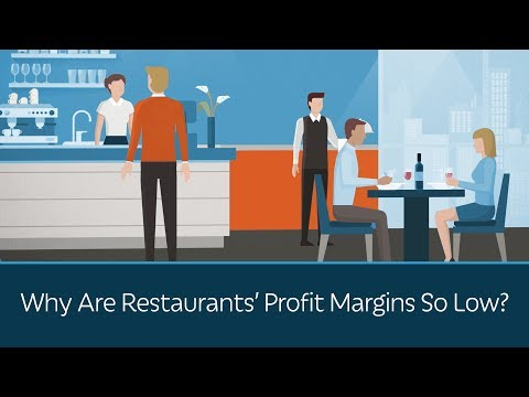 Why Are Restaurants' Profit Margins So Low?
