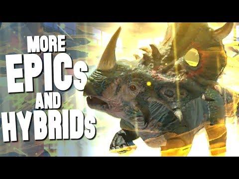 More EPIC and HYBRID DINOSAURS! - Jurassic World