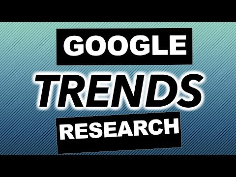 Using Google trends to find Keywords and Niche Ideas