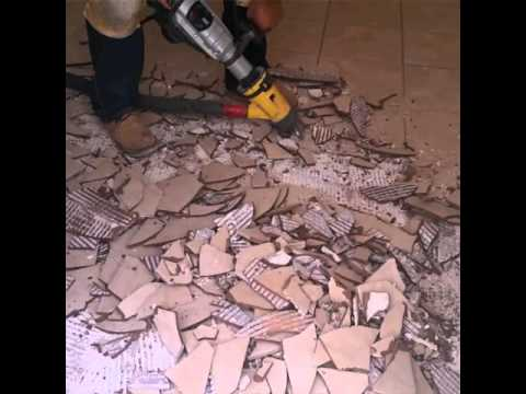 kwest flooring Ceramic tile removal, laminate installation. floor leveling