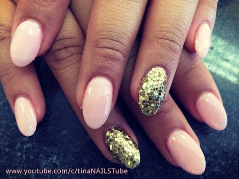 ALMOND SHAPED   ACRYLIC NAILS STEP BY STEP TUTORIAL   PART 1