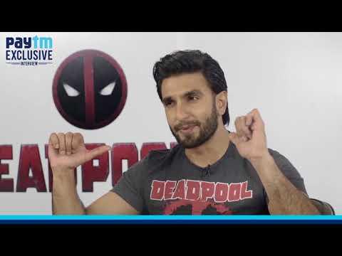 Paytm Exclusive: Deadpool 2 interview feat. Ranveer Singh