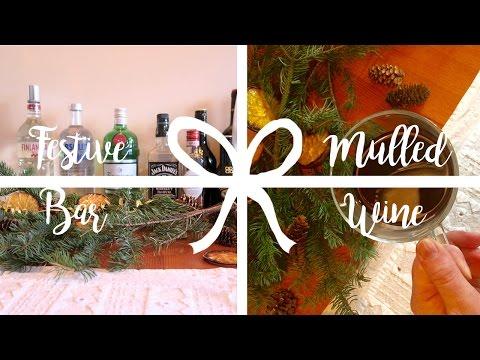 Icelandic Mulled Wine 'Jóla Glögg' + DIY Christmas Bar Cart | Sonia Nicolson
