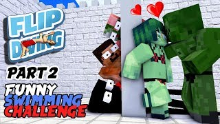 Download MONSTER SCHOOL : SWIMMING CHALLENGE PART 2 (BOYS REVENGE) - BEST MINECRAFT ANIMATION Video