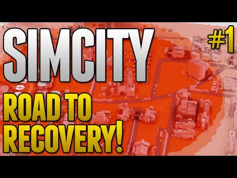 SimCity Road To Recovery! - MASSIVE RADIATION PROBLEM! #1