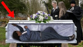 10 Times People Woke Up At Their Own Funeral
