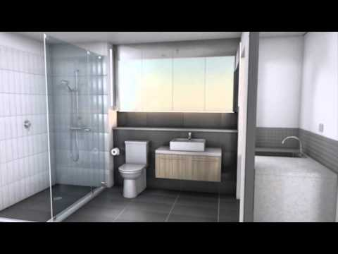 Factory Finished fully Installed Modular Bathroom Pods Delivered to Melbourne, Sydney, Brisbane