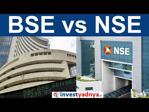 NSE vs BSE in India | Difference between SENSEX and Nifty | Share Market Basics for Beginners