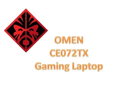Omen CE072TX GAMING LAPTOP