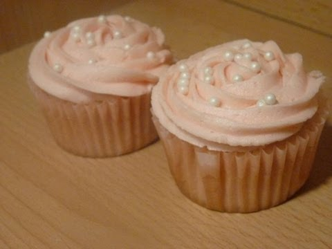 Pink Champagne Cupcakes- Di's Sweet Treats