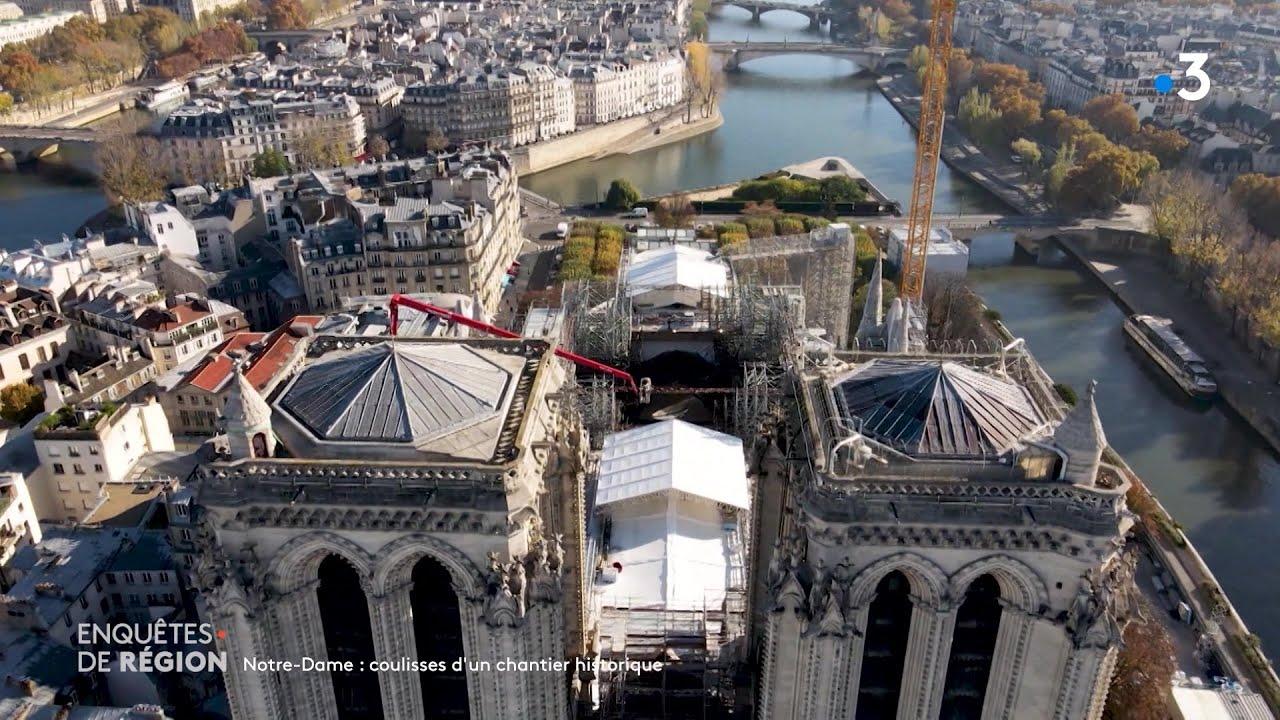 Notre-Dame, coulisses d'un chantier historique