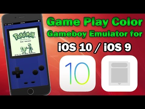 Play Gameboy Games Using Game Play Color on iOS 10 / 9.3.4 / 9.3.3 (No Jailbreak) iPhone, iPod, iPad