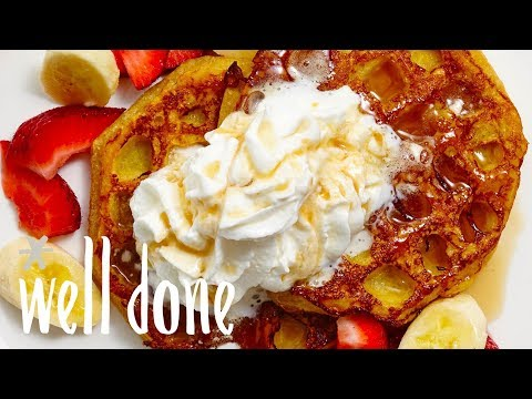 How To Make French Toasted Waffles | Recipe | Well Done