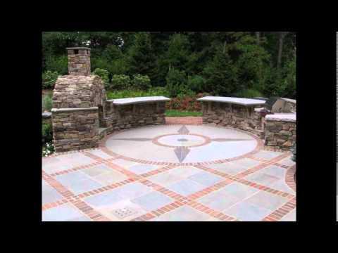 Brick Patio Designs | Patio Brick Designs | Red Brick Patio Designs