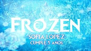 Invitación Frozen Diy Moldes Gratis 3d
