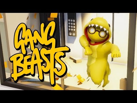 GANG BEASTS IS BACK! Gang Beasts With Dem Salty Bois.