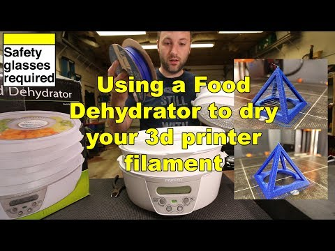 How To: Dehydrate 3d printer filament