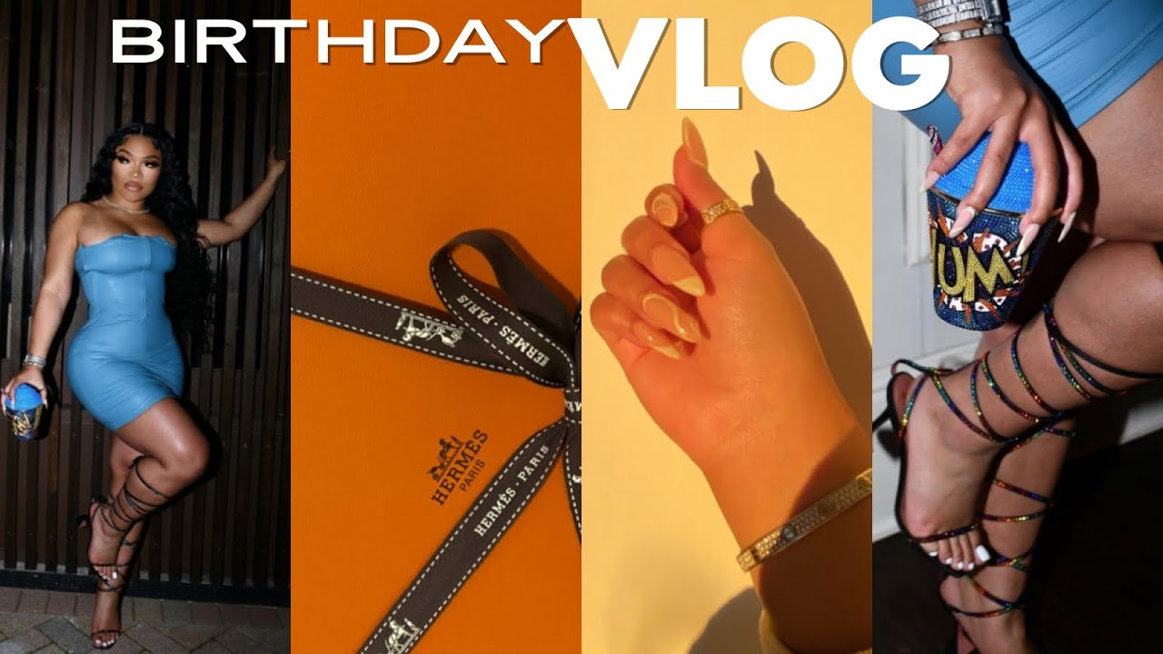 BDAY VLOG: GETTING READY FOR MY BDAY , LUXURY GIFT UNBOXING & MORE | KIRAH OMINIQUE