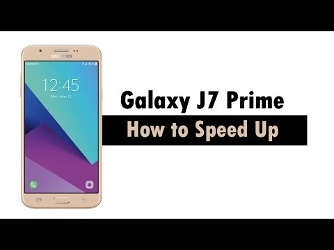 How to Speed Up the Samsung Galaxy J7 Prime 2017