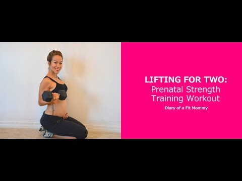 Lifting for Two: Prenatal Strength Training Workout
