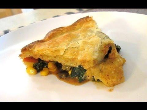 Southwestern Chicken Pot Pie - Spicy Chicken, Vegetables and Gravy - PoorMansGourmet