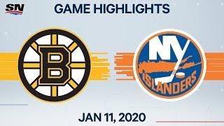 NHL Highlights Bruins Vs Islanders Jan 11 2020