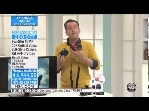 Fujifilm FinePix S4800 16MP 30X Optical Zoom SLRStyle Ca...